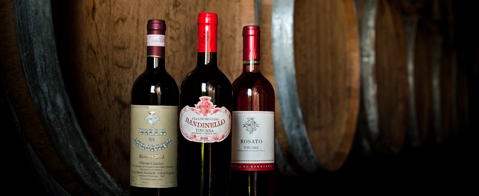 A Selection of our fine wines